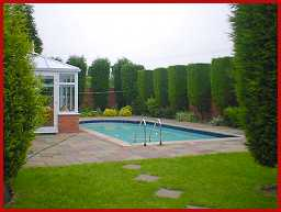 Highfield farm guest house sutton coldfield Swimming pool sutton coldfield